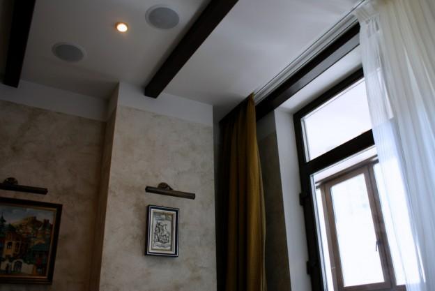 встроенная акустика потолок